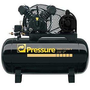 Compressor Onix Press 5,2 Pés 50 Litros Monofásico - Pressure