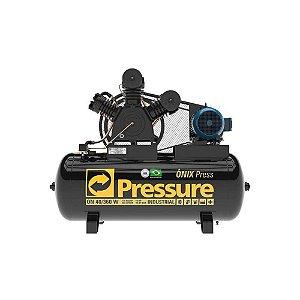 Compressor Onix Press 40 Pés 360 Litros Trifásico - Pressure