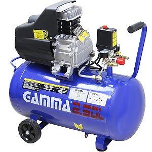 Compressor de Ar 50 - 2,5HP 50 Litros - Gamma