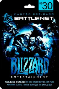 Cartão Battle.Net R$ 30 reais - Brasileiro - Código Digital