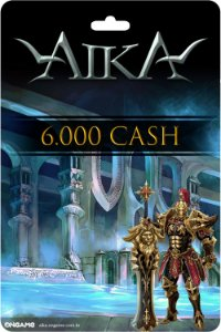 Cartão Aika 6.000 Cash - Ongame - Código Digital