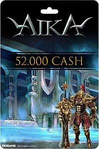 Cartão Aika 52.000 Cash - Ongame - Código Digital