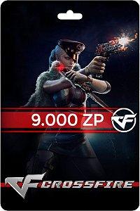 Cartão Crossfire 9.000 ZP - Código Digital