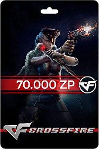 Cartão Crossfire 70.000 Zp - Código Digital