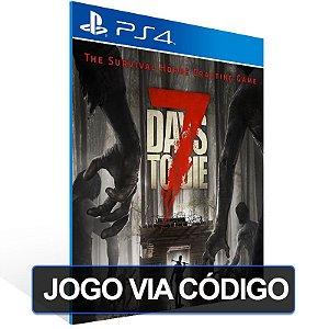 7 Days to Die - PS4 - Digital Código 12 Dígitos Brasileiro