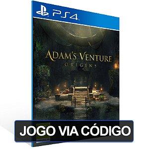 Adam's Venture: Origins - Deluxe Edition - PS4 - Digital Código 12 Dígitos Brasileiro
