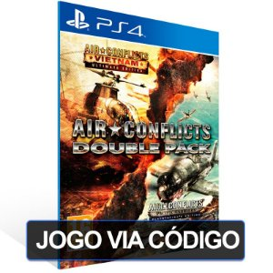 Air Conflicts: Double Pack - PS4 - Digital Código 12 Dígitos Brasileiro