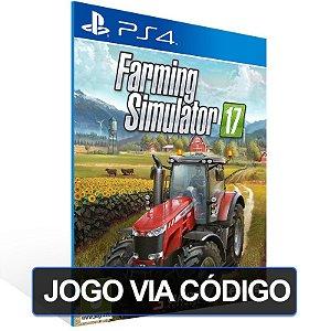 Farming Simulator 17 - PS4 - Digital Código 12 Dígitos Brasileiro