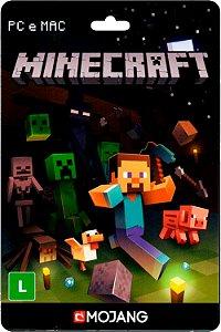 Cartão Minecraft pré-pago (Brasil) - Código Digital