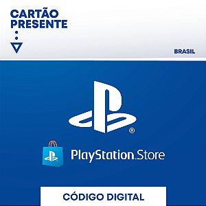 Cartão Playstation Network R$ 300 Reais - Brasil - Código Digital