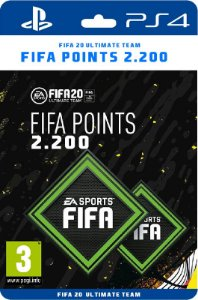2.200 Fifa points Playstation Brasil - Código Digital