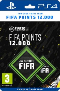 12.000 Fifa points Playstation Brasil - Código Digital