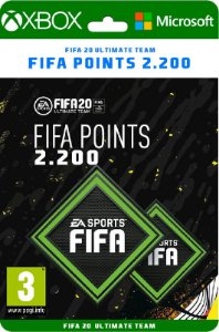 Fifa points XBOX 2200 *SEM EA ACESS - Código Digital