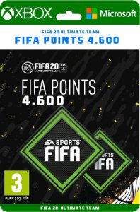 Fifa points XBOX 4600 *SEM EA ACESS - Código Digital