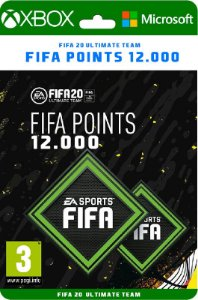 Fifa points XBOX 12000 *SEM EA ACESS - Código Digital