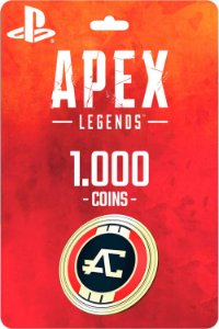 Cartão 1.000 Coins Apex Legends PS4 - Código Digital