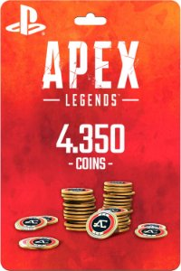 Cartão 4.350 Coins Apex Legends PS4 - Código Digital