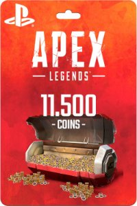Cartão 11.500 Coins Apex Legends PS4 - Código Digital