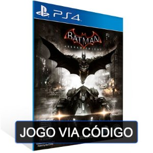 Batman: Arkham Knight -PS4- DIGITAL CÓDIGO 12 DÍGITOS BRASILEIRO