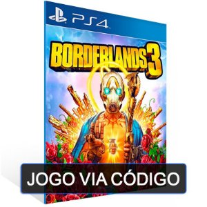 Borderlands 3 - PS4- DIGITAL CÓDIGO 12 DÍGITOS BRASILEIRO