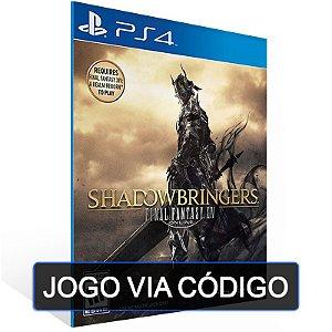 FINAL FANTASY XIV: SHADOWBRINGERS - PS4 - DIGITAL CÓDIGO 12 DÍGITOS BRASILEIRO