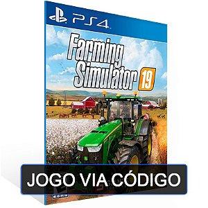 Farming Simulator 19 - PS4 - DIGITAL CÓDIGO 12 DÍGITOS BRASILEIRO