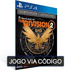 Tom Clancy's The Division 2  - Ultimate Edition PS4 - DIGITAL CÓDIGO 12 DÍGITOS BRASILEIRO