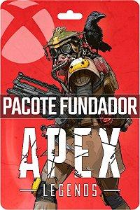 Cartão Pack fundador Apex Legends Xbox One - Código Digital