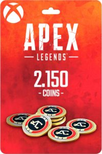 Cartão 2.150 Coins Apex Legends Xbox One - Código Digital