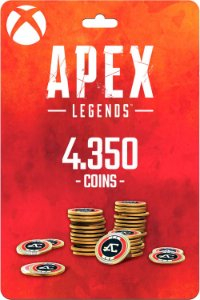 Cartão 4.350 Coins Apex Legends Xbox One - Código Digital