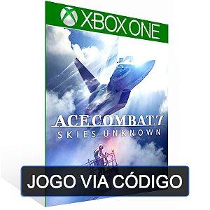 ACE COMBAT 7: SKIES UNKNOWN - XBOX - CÓDIGO 25 DÍGITOS BRASILEIRO