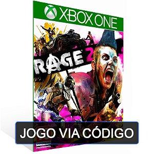 RAGE 2 - XBOX - CÓDIGO 25 DÍGITOS BRASILEIRO