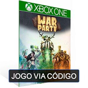 Warparty - XBOX - CÓDIGO 25 DÍGITOS BRASILEIRO