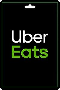 Cartão Uber Eats R$50 Reais Pré - Pago Vale Presente App - CÓDIGO DIGITAL