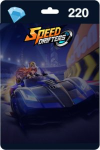 Cartão Garena Speed Drifters 220 Diamantes - Código Digital