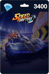 Cartão Garena Speed Drifters 3400 Diamantes - Código Digital