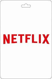 Cartão R$ 200 Reais Pré-pago Netflix - Código Digital