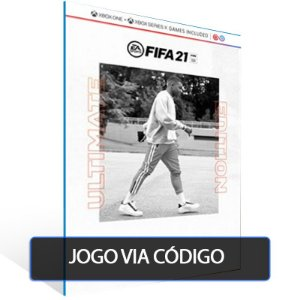 FIFA 21 Edição Ultimate Xbox One & Xbox Series X|S - XBOX - CÓDIGO 25  DÍGITOS BRASILEIRO
