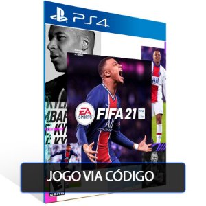 FIFA 21 - PS4 - CÓDIGO 12  DÍGITOS BRASILEIRO