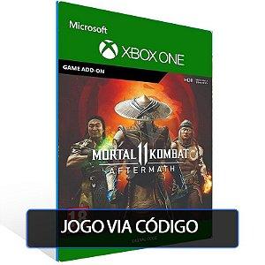 Mortal Kombat 11 Aftermath +KP - XBOX - CÓDIGO 25  DÍGITOS BRASILEIRO
