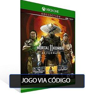 Mortal Kombat 11 Aftermath Kollection - XBOX - CÓDIGO 25  DÍGITOS BRASILEIRO