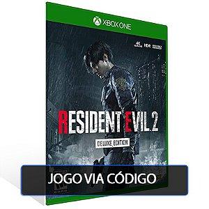 RESIDENT EVIL 2 DELUXE EDITION  - XBOX - CÓDIGO 25  DÍGITOS BRASILEIRO