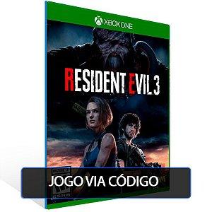 RESIDENT EVIL 3  - XBOX - CÓDIGO 25  DÍGITOS BRASILEIRO