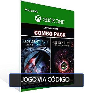 Resident Evil Revelations 1 & 2 Bundle - XBOX - CÓDIGO 25  DÍGITOS BRASILEIRO