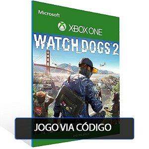 Watch Dogs 2- XBOX - CÓDIGO 25  DÍGITOS BRASILEIRO