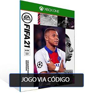 FIFA 21 Edição dos Campeões Xbox One - CÓDIGO 25 DE DÍGITOS BRASILEIRO