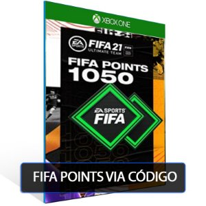 FIFA 21- 1050 Fifa points  - XBOX ONE- Código 25 Dígitos Digital