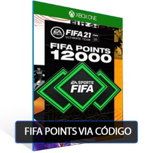 FIFA 21- 12000 Fifa points  - XBOX ONE- Código 25 Dígitos Digital