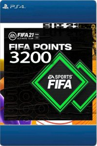 FIFA 21- 3200 Fifa points -  Playstation Brasil PS4 - Código 12 Dígitos Digital