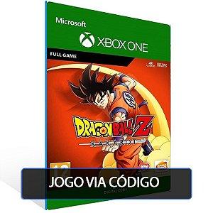 DRAGON BALL Z: KAKAROT- XBOX - CÓDIGO 25  DÍGITOS BRASILEIRO